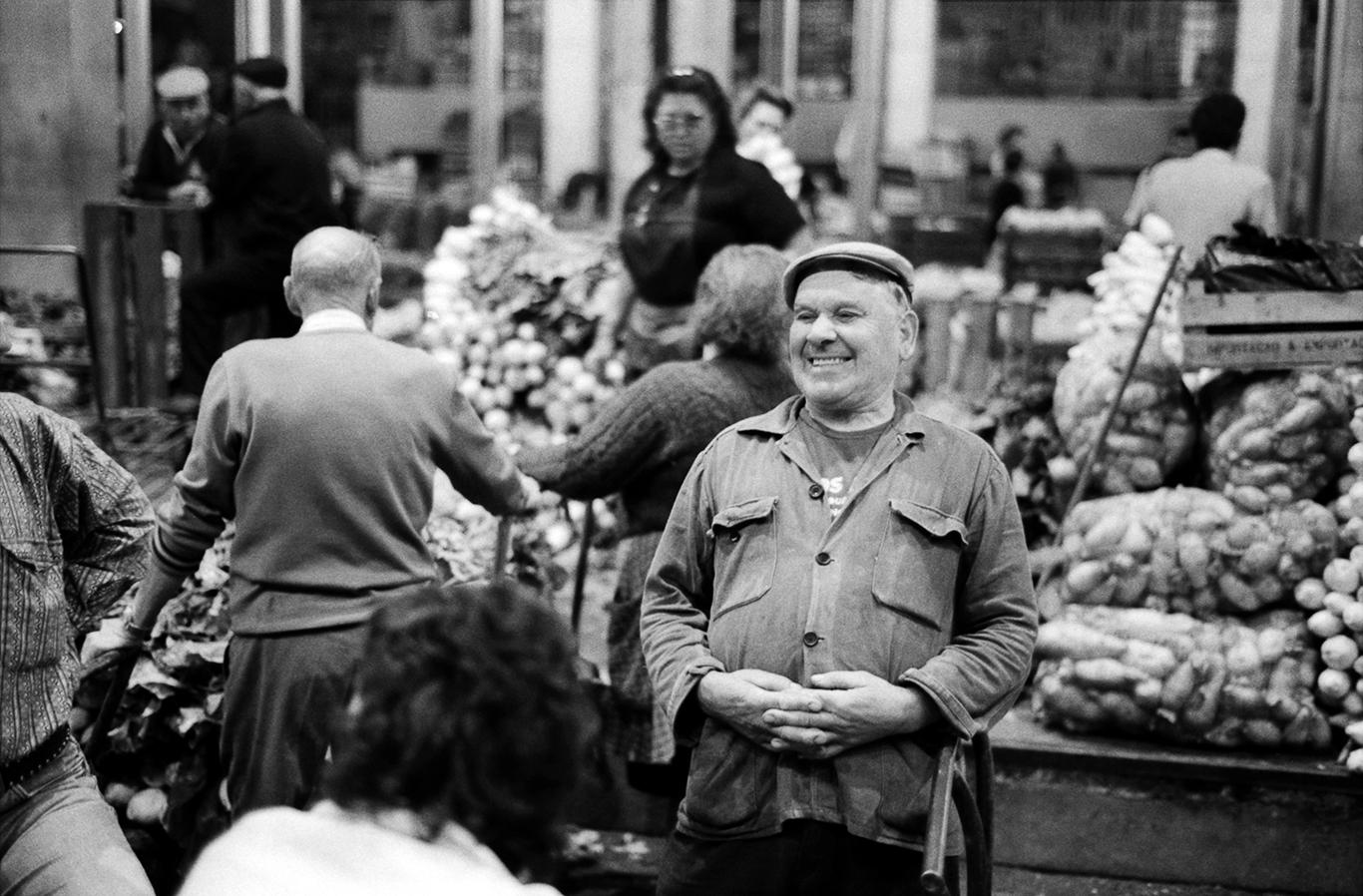 © Luís Rocha, Mercado da Ribeira, Lisboa 1994.